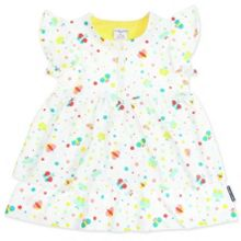 Baby girls butterfly ruffle dress