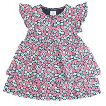 Baby girls floral ruffle dress