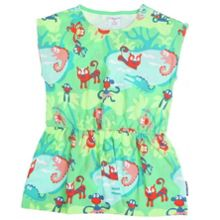 Baby girls jungle print dress