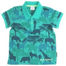 Baby boys safari polo shirt