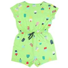 Baby girls ice cream print playsuit