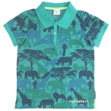 Boys safari polo shirt