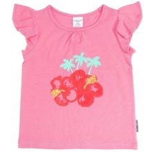 Baby girls flower top
