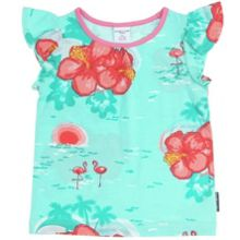 Baby girls hawaiian top