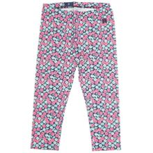 Girls meadow print leggings