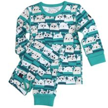 Kids Animal Print Pyjamas