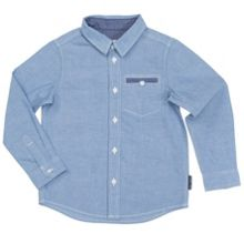 Polarn O. Pyret Boys Chambray Shirt