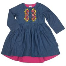 Baby Girl Embroidered Dress