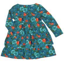 Baby Girls Floral Layer Dress