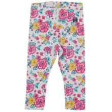 Polarn O. Pyret Baby Girls Floral Leggings