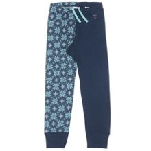 Kids  Snowflake Merino Wool Long Johns