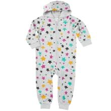 Babies Velour Little Star Overall