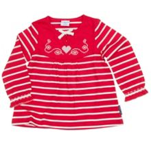 Baby Girls Striped Tunic Top