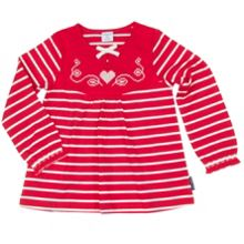 Girls Striped Tunic Top