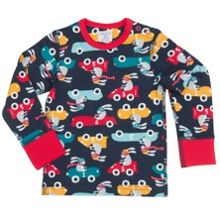 Babies Boys Car Print Top