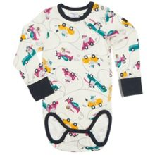 Babies Boys Car Print Bodysuit