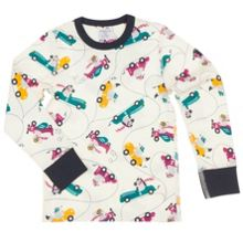 Boys Car Print Top