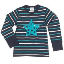 Babies Boys Star appliqué Top