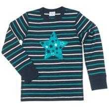 Boys Star appliqué Top