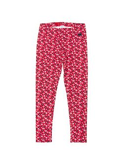 Polarn O. Pyret Girls Floral Leggings