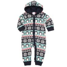 Babies Merino Wool Penguin All-in-one