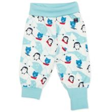 Polarn O. Pyret Babies Penguin and Bear Trousers