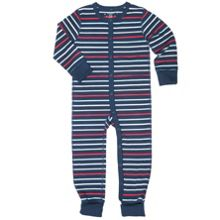 Babies Striped All-in-one Pyjamas