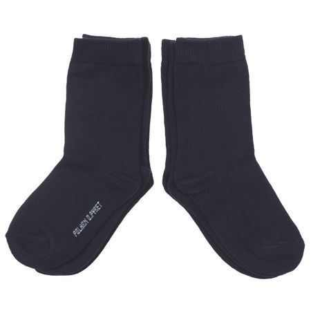 Polarn O. Pyret Kids 3 Pack Blue Socks