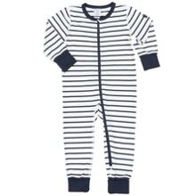 Polarn O. Pyret Baby Striped All-in-one Pyjamas