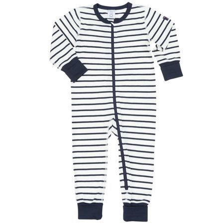 Polarn O. Pyret Babies Striped All-in-one Pyjamas