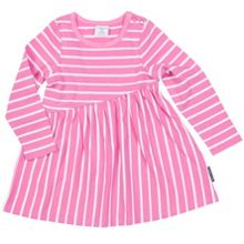 Polarn O. Pyret Baby Girls Striped Asymmetrical Top