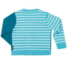 Babies Striped Cotton Cardigan