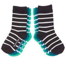 Babies 3 Pack Striped Socks