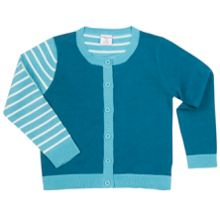 Polarn O. Pyret Kids Striped Cotton Cardigan