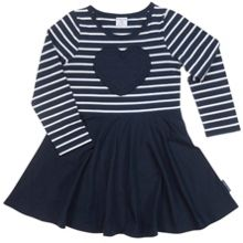 Polarn O. Pyret Girls Heart Dress