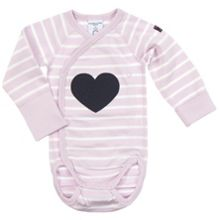 Babies Striped Wrap Around Bodysuit