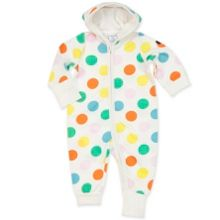 Polarn O. Pyret Babies Polka Dot All-in-one