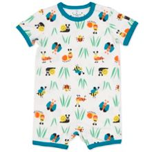 Polarn O. Pyret Babies Garden Print All-in-one Pyjamas