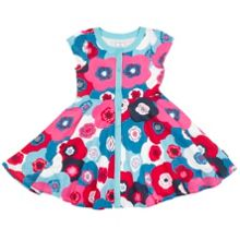 Polarn O. Pyret Girls Floral Dress