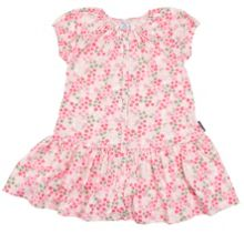 Polarn O. Pyret Girls Flowers and Bunnies Dress