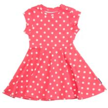 Polarn O. Pyret Baby Girls Polka Dot Dress