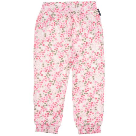 Polarn O. Pyret Girls Floral Trousers
