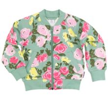 Polarn O. Pyret Girls Bold Floral Jacket
