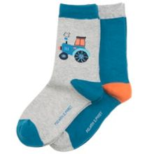 Polarn O. Pyret Boys 2 Pack Tractor Socks