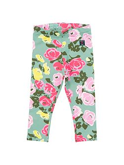 Baby Girls Flower Leggings
