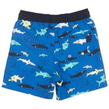 Polarn O. Pyret Boys Shark Print Board Shorts