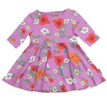 Polarn O. Pyret Baby Girls Bold Floral Dress