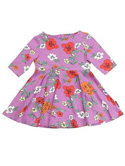 Baby Girls Bold Floral Dress