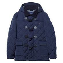 Boys Quilted Toggle Coat