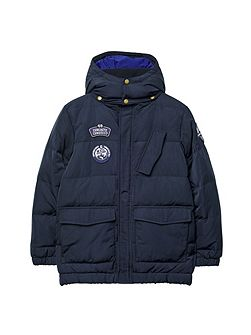 Barbour Boy S Classic Chelsea Quilted Jacket Navy House